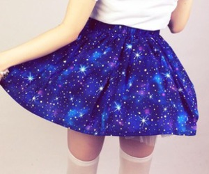 skirt and galaxy image