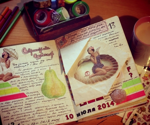 dairy, fairytales, and journal image