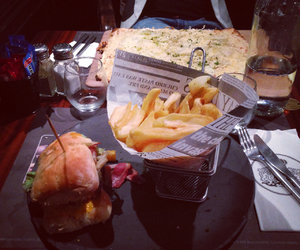 diner and food image
