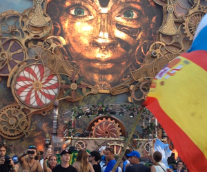 party, summer, and Tomorrowland image