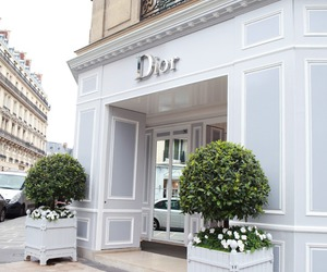dior, luxury, and white image