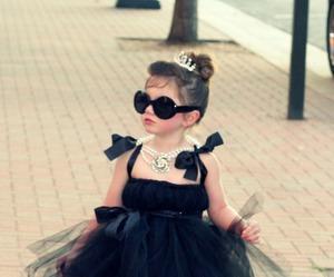 black, dress, and kids image