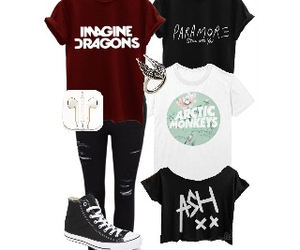band, converse, and Polyvore image