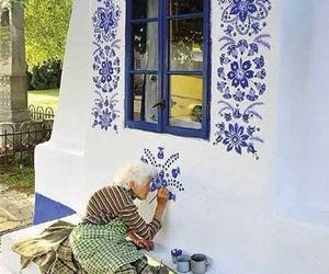 art, paint, and home image