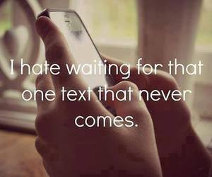 waiting and your text image