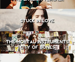 lily collins, stuck in love, and the english teacher image