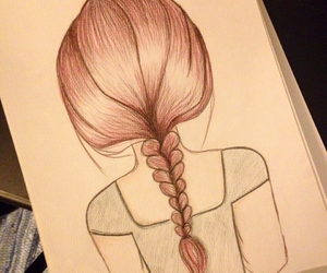 amazing, beautiful, and braid image
