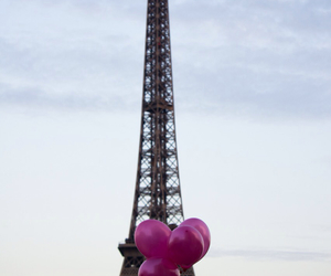 bride, eiffeltower, and engagement image