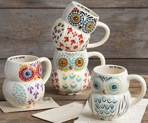 owl, cute, and cup image