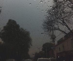 boring, rain, and day image