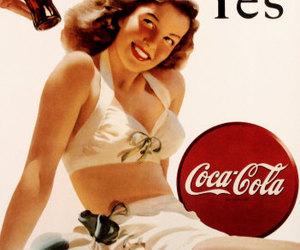 coca-cola, vintage, and coca cola image