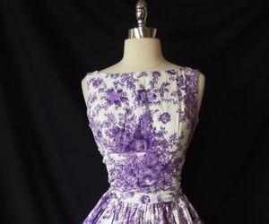 50's, dress, and fashion image