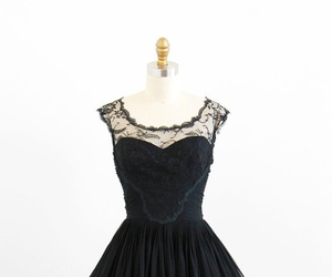 dress, vintage, and 50's image