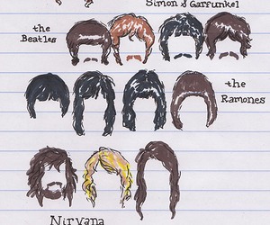 nirvana, MGMT, and bob dylan image
