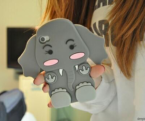 case, elephant, and iphone image