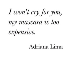 Adriana Lima, makeup, and quotes image