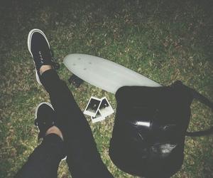 grunge, black, and vans image