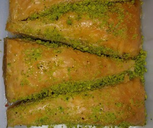baklava, food, and middle east image