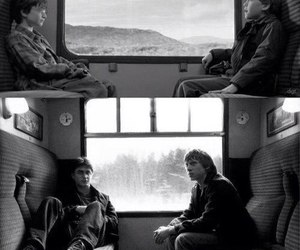 black and white, grown up, and hogwarts image