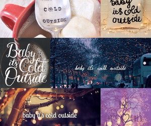 baby, cold, and winter image