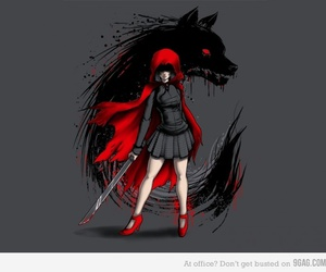 wolf, art, and awesome image