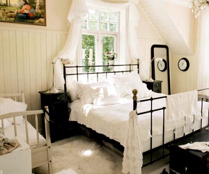 bedroom, country, and cozy image
