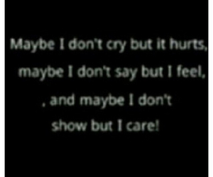 care, cry, and hurt image