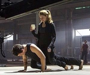 divergent, Shailene Woodley, and miles teller image