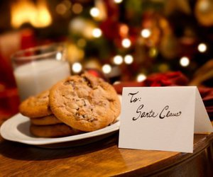 christmas, Cookies, and milk image
