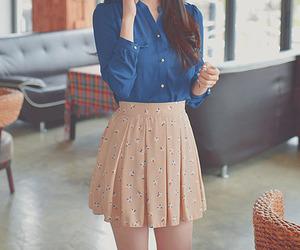 fashion, skirt, and kfashion image