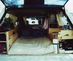 car, travel, and bed image