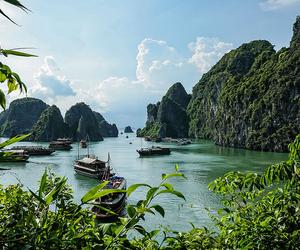 nature, Vietnam, and halong bay image