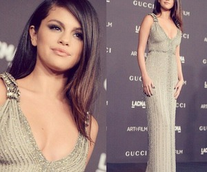 selena gomez, dress, and gomez image