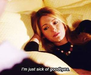 gossip girl, goodbye, and quotes image