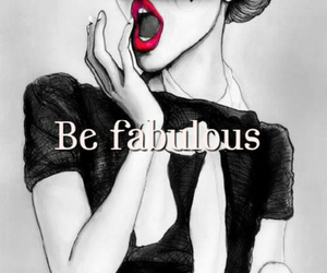 fabulous and red image