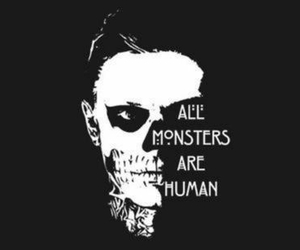 monster, american horror story, and ahs image