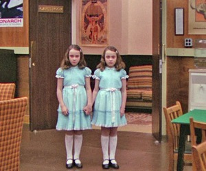 horror, The Shining, and Stanley Kubrick image
