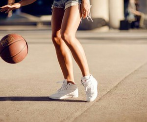 Basketball, sport, and ball image