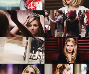 quinn fabray, glee, and dianna agron image