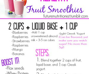 healthy, fruit, and fit image