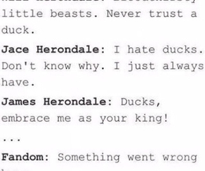 jace, james herondale, and will image
