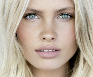 blonde, model, and beauty image
