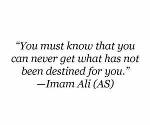 islam, destiny, and quotes image