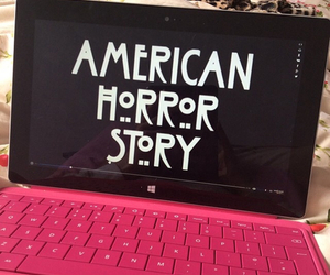 american horror story, pink, and love image