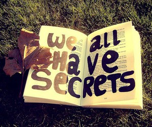 book and secret image