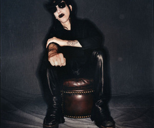 boots, Marilyn Manson, and heavy metal image