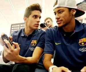 neymar, marc bartra, and neymar jr image