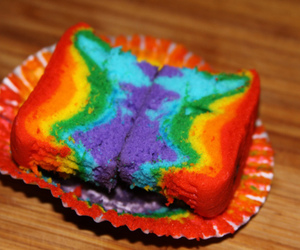 cake, cool, and rainbow image