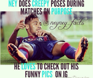 funny, neymar, and cute image