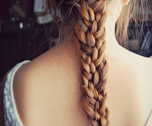 braid, fashion, and hair style image